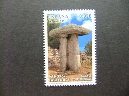 España Espagne 2014 TALAYOTICA - MESA De TORRETRENCADA MENORCA - ARQUEOLOGIA Edifil 4910 ** MNH - 2011-... Unused Stamps