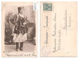 11079  COSTUME DI  ARITZO  1903 - Cagliari