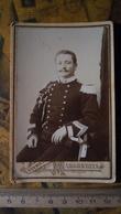 Foto Cartonata - Fotografia Studio L. Massaccesi - Fermo (Marche) - Militari, Uniformi - 1905 - Fotografia