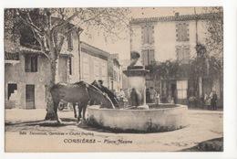 Cp Corbières - Place Neuve - Francia