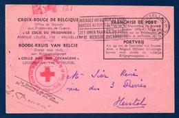 Croix-Rouge De Belgique. Colis Du Prisonnier  Envoyé Au Stalag II B, Hammerstein (Czarne, Pologne).26 Sept. 1942 - Documents