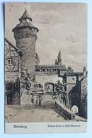Vestner Turm Und Tiefer Brunnen, Nürnberg, Deutschland Germany - Nuernberg