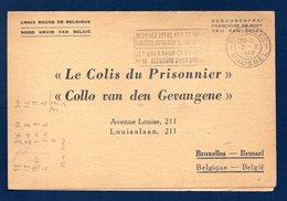 Croix Rouge De Belgique. Le Colis Du Prisonnier Avec Accusé De Réception. Stalag II B .(Hammerstein-Czarne).13.10.1942 - Documenti