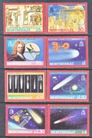 MONTSERRAT  605-12  **  HALLEY'S  COMET - Astronomy