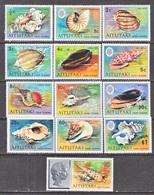 AITUTAKI  82-94  **  SEASHELLS - Aitutaki