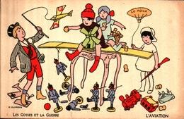 Patriotique 341 Illustrateur Aurrens, Les Gosses Et La Guerre Aviation - Heimat
