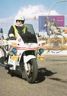CARTE MAXIMUM PORTUGAL 2001 - GARDE NATIONALE REPUBLICAINE, POLICE ROUTE - - Police - Gendarmerie
