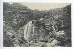 CPA Environs De Lamalou Cascade Du Chateau Des Sarrazins - Lamalou Les Bains