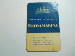 Calendar * Portugal * 1964 * Companhia De Seguros Ultramarina - Calendars