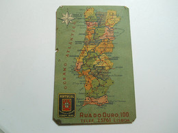 Calendar * Portugal * 1942 * Companhia De Seguros Portugal * See Small Problems - Tamaño Pequeño : 1941-60