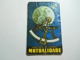 Calendar * Portugal * 1970 * Companhia De Seguros Mutualidade * Very Folds - Calendriers