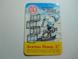 Calendar * Portugal * 1968 * António Pessoa, Lda * Cold - Calendriers