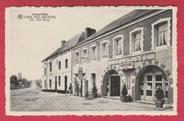 Grandrieu - Café Des Arcades ... Pompe à Essence Shell ( Voir Verso ) - Sivry-Rance