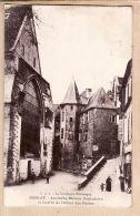 X24087 SARLAT Dordogne Maison Consulaire Entrée Hotel Des Postes 1928 De Baby Mathilde à DE GRIVEL Nimes Gard- P.D.S - Sarlat La Caneda