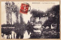 X24173 BOURDEILLES Dordogne La DRÔNNE Et Les Terrasses 1909 à FRANCINO Avenue Luchere St-Gaudens- N°4 - Altri Comuni