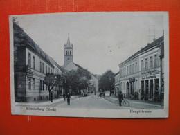 Muncheberg(Mark).Hauptstrasse.Apoteke - Muencheberg