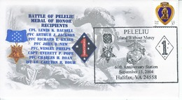 DISTINGUISHED  MARINES  FDC  MEDAL  OF  HONOR - 2001-2010