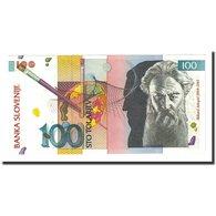 Billet, Slovénie, 100 Tolarjev, 1992-01-15, KM:14A, NEUF - Slovenia