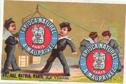 CHROMO TAPIOCA Naturel A. MAUPRIVEZ à Paris - Exposition Paris 1875   - BARA11  - - Trade Cards