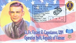 DISTINGUISHED  MARINES  FDC  MEDAL  OF  HONOR  VIETNAM - 2001-2010