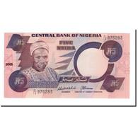 Billet, Nigéria, 5 Naira, UNDATED (1984), 2001-2005, KM:24b, NEUF - Nigeria