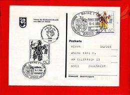ALLEMAGNE, RFA, Mayence, 150 Ans Du Carnaval - Briefe U. Dokumente