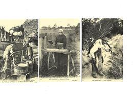 Cartes Postales En Sologne (3cartes)(41)) Repro Petits Métiers - France