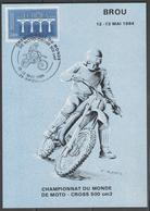 MOTO-CROSS:  Championnat Du Monde BROU 1984 - Moto