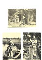 Cartes Postales En Sologne (3cartes)(41)) Repro Petits Métiers - Unclassified