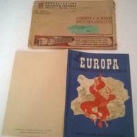 L'EUROPA E IL MONDO ATTRAVERSO DUE GUERRE + BUSTA - C.T.I. 1943 - History, Philosophy & Geography