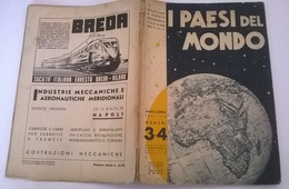 I PAESI DEL MONDO MAR-APR 1941 N. 3-4 CARTA DELL'EGITTO - History, Philosophy & Geography