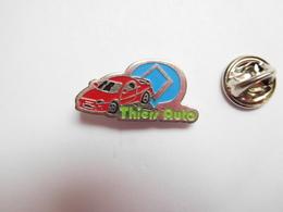 Beau Pin's , Thiers Auto , Peugeot ?? Renault ?? Puy De Dôme - Peugeot
