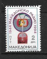 MACEDOINE 1994 RADIO MACEDONNIENNE   YVERT N°36  NEUF MNH** - Macédoine