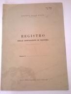 REGISTO DELLE DISPOSIZIONI DI MASSIMA - FERROVIE DELLO STATO - Books, Magazines, Comics
