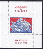 Bloc Feuillet Journée Du Timbre De 1945 Marseille La Marseillaise Draim - Libération