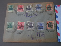 Bucurest Brief Germania Nicht Perfekt , 1918 - Occupazione 1914 – 18