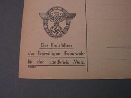 Metz Kreisführer Der Feuerwehr , Schöne Karte - Deutschland