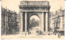 POSTAL     BORDEAUX (BURDEOS) FRANCIA  -LA PUERTA DE SALINIERES  (LA PORTE DES SALINIÈRES) - Bordeaux