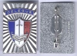 Insigne De Délégué Du Souvenir Français - Insignes & Rubans