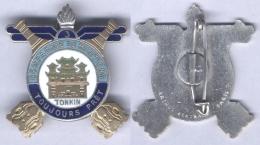 Insigne De La 3e Compagnie De Munitions Du Tonkin - Armée De Terre