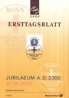 "West-Duitsland - Ersttagsblatt - 1/2000 - Jubiläum ""Anno Domini 2000"" - Michel 2087 - [7] West-Duitsland"