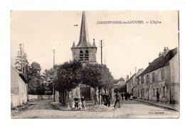 Chennevieres Les Louvres. L'Eglise. - Frankrijk