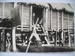 Villages Lacustres Du Lac Nokoue Dahomey - Benin
