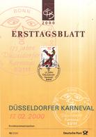 West-Duitsland - Ersttagsblatt - 10/2000 - 175 Jahre Düsseldorfer Karneval - Michel 2099 - Carnaval