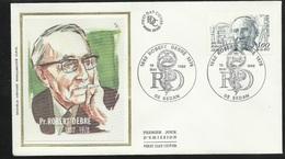 FDC  Lettre Illustrée 1er Jour Sedan Le  15/05/1982 Le N° 2228 Professeur Robert Debré   Type 1 ...à Moins De 20 % ! ! ! - Medicina