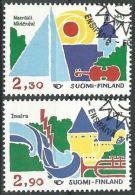 FINNLAND 1993 Mi-Nr. 1210/11 O Used - Usados