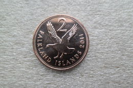 Falkland 2 Pence  2011  UNC - Falkland Islands