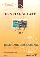 West-Duitsland - Ersttagsblatt - 14/2000 - Bilder Aus Deutschland (VI): Passau - Michel 2103 - [7] West-Duitsland