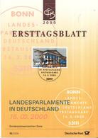 West-Duitsland - Ersttagsblatt - 15/2000 - Landesparlamente In Deutschland (V): Hannover - Michel 2104 - [7] West-Duitsland