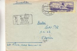 Lettonie - Russie - Lettre Recom De 1954 - Oblit Valka - Exp Vers Balvi - Peter I - 1923-1991 URSS